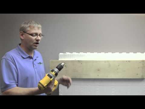 Fox Blocks FBE Floor Joist Attachment_Insulated Concrete Forms.wmv
