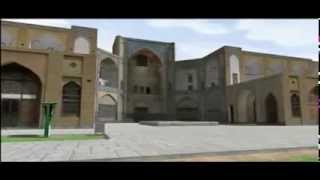preview picture of video 'Naqsh Jahan in Isfahan Iran 3D'