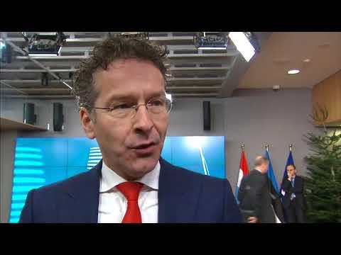 Δηλώσεις του Γερούν Ντέισελμπλουμ κατά την άφιξή του στη συνεδρίαση του Eurogroup