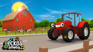 The Best Of Trevor The Tractor   Tractor For Children   Educational Videos For Kids   Geckos Garage