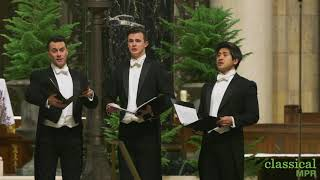 Chanticleer performs Biebl's 'Ave Maria' at the Cathedral of St. Paul