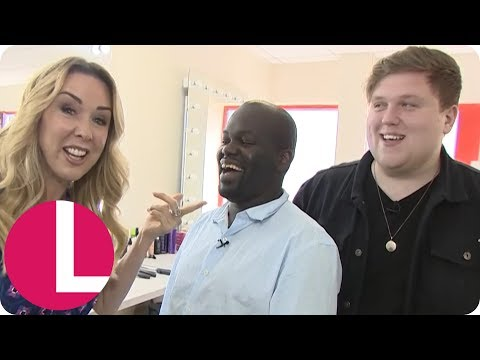 BGT's Daliso and Jamie Talk Nerves Before the Final | Lorraine