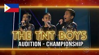 TNT Boys 'The Worlds Best' All Performances w/ Scores