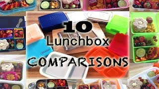 Planetbox, Lunchbots, Yumbox, Bentology(laptop Lunches)+more