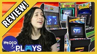 Arcade1Up Asteroids Cabinet Closer Look - PS Nation