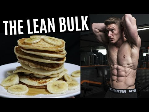 My Bulking Diet (FULL DAY OF EATING) - смотреть онлайн на