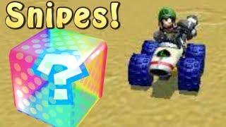 Mario Kart 7 Item Snipe Montage