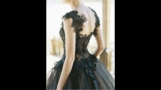 Bridal Fashion : Black Wedding Dresses