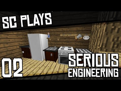 Serious Engineering | #2 | Cooking Time | Modded Minecraft 1.10.2