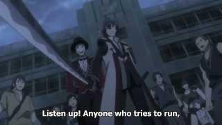 Black Bullet - Rentaro takes over as commander