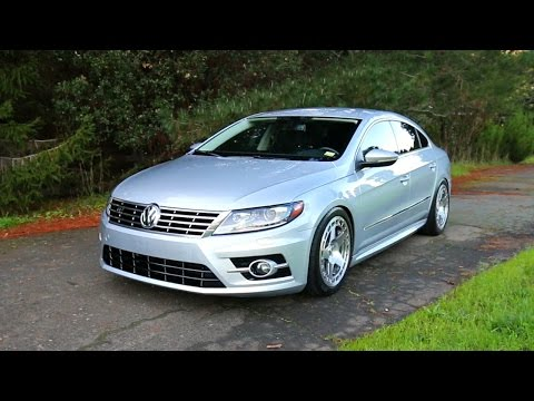VW CC R-Line new forged wheels and wide tires!