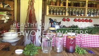 How To Make A Healthy Summer Drink: Refreshing Flavored Water