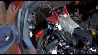 preview picture of video 'Autoriparazioni fai da te Radiatore del riscaldamento Fiat punto 99'
