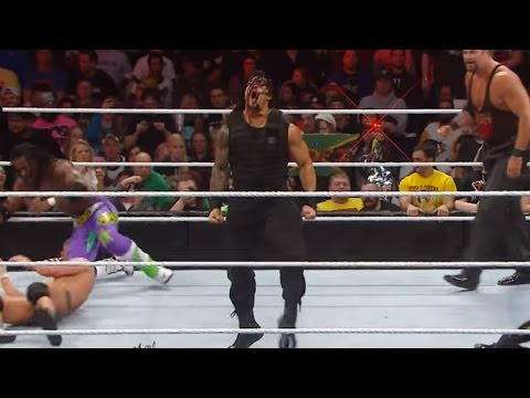 Download Roman Reigns Makes A Dominant Royal Rumble Match Debut HD Mp4 3GP Video and MP3
