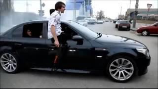 Чеченская мафия крутые виражи на BMW M5