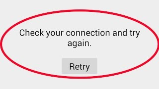 how to fix check your connection and try again play store|google play store no connection error