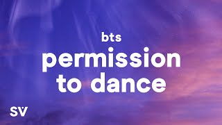 BTS - Permission to Dance (Lyrics)