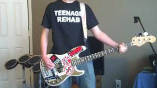 Propagandhi - Hallie Sallasse, Up Your Ass bass cover
