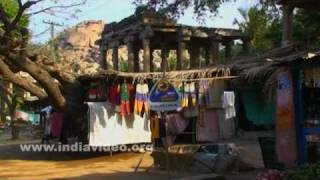 Life at Hampi, a historical site