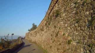 preview picture of video 'Bike ride from the Rocca of Carmignano in Tuscany Italy'