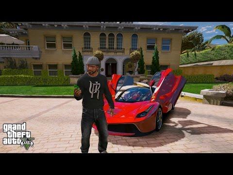 GTA 5 REAL LIFE MOD#111-FAMILY HOUSE SHOPPING
