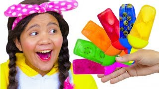 Color Song Nursery Rhymes #2 | Learn Colors | Action Song with Mommy, Linda and Brother