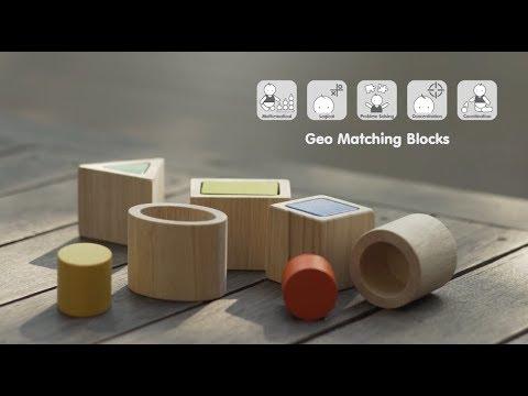 Vorschau: Formen Sortieren Spielzeug aus Holz ab 1 Jahr