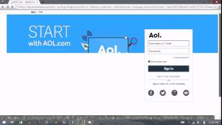 AOL Mail Login Screen - AOL Mail Sign In | AOL.com 2015