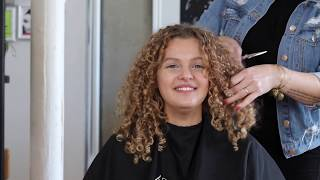HOW TO QUICKLY CREATE SHAPE IN CURLY HAIR CUTTING