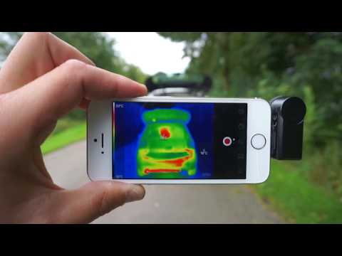Wärmebildkamera Modul für das Smartphone   Test