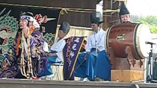 「黒塚」4、佐野神楽社中のみなさん