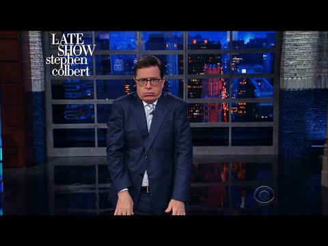 Stephen: 'This Is What's Wrong With The American President'
