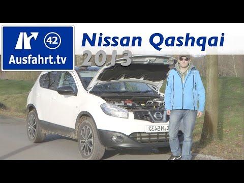 2013 Nissan Qashqai 1.6 dCI / Fahrbericht der Probefahrt / Test / Review