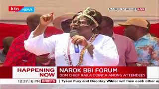 Gladys Wanga advocates for positions for women in key Leadership posts during Narok BBI Forum