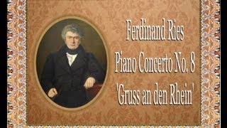 Ries - Piano Concerto No.  8
