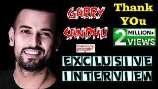GARRY SANDHU | Exclusive Interview | Cafe Punjabi | Channel Punjabi