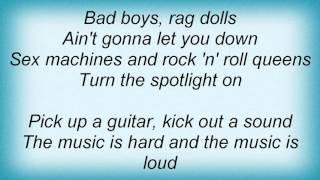 Krokus - Bad Boys Rag Dolls Lyrics