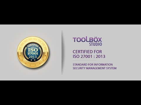 Toolbox Studio - ISO:27001 Certified Video Production Company ...