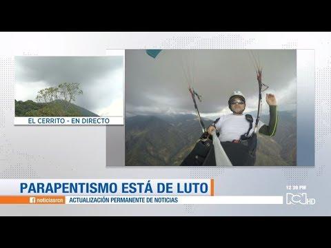 Muere hombre al caer de un parapente en el Valle del Cauca