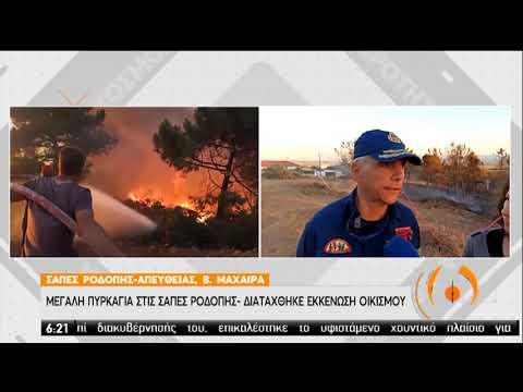 Φωτιά Ροδόπη | Χωρίς ενεργά μέτωπα | 09/07/2020 | ΕΡΤ