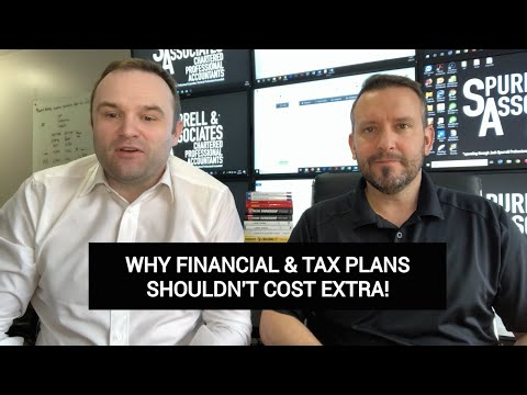 Why Financial Plans Shouldn't Cost Extra