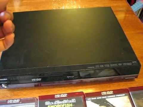 Toshiba HD DVD Reproductor repaso