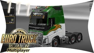 preview picture of video 'LETS PLAY: ETS 2 - MULTIPLAYER: #111 Neues Muster für den Volvo I Euro Truck Simulator 2'