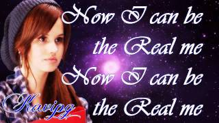 Radio Rebel Starring Debby Ryan - The Gggg's - Now I Can Be The Real ME - Lyrics