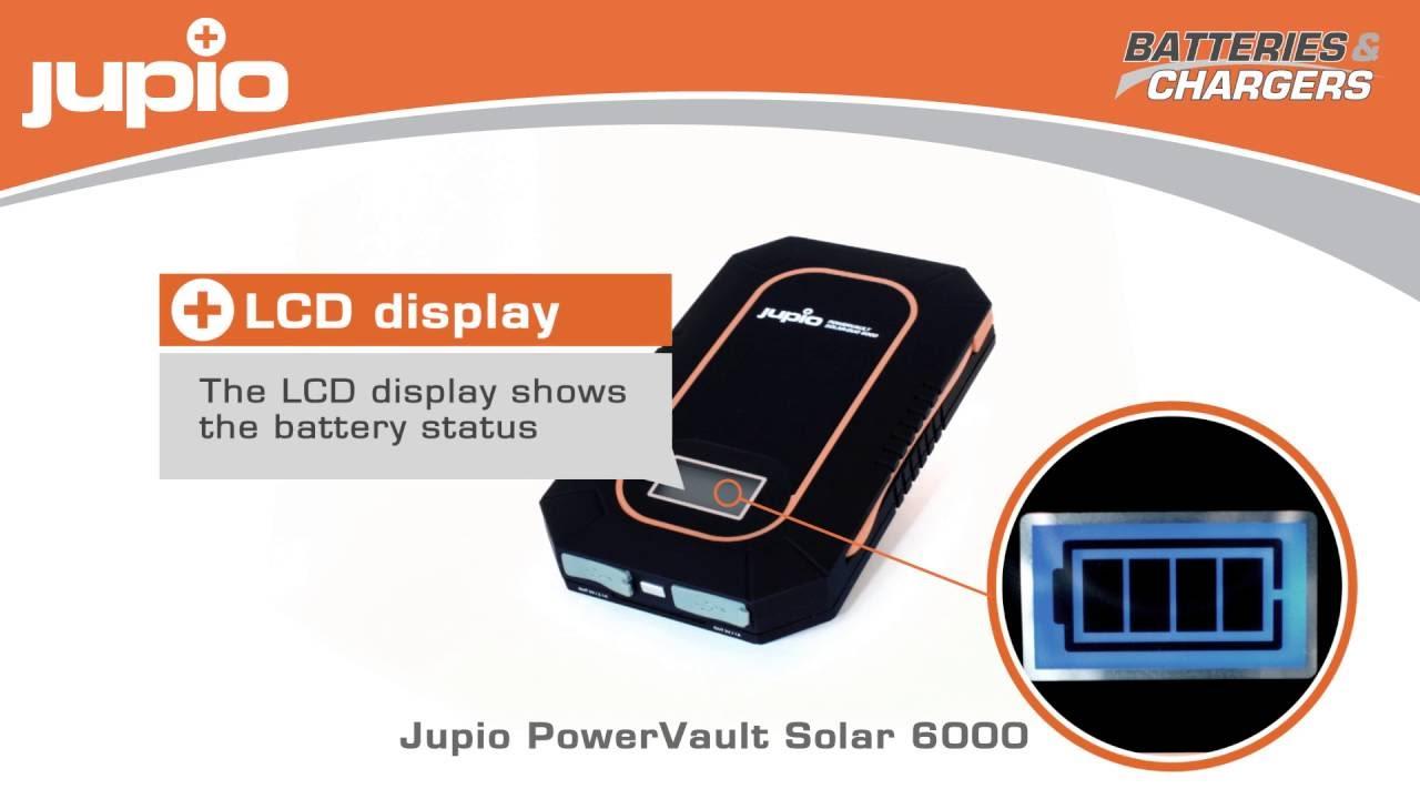 מטען JUPIO סולרי ROWERVAULT DUO 6000 3