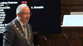 Burgemeester Aboutaleb over controles van de horeca