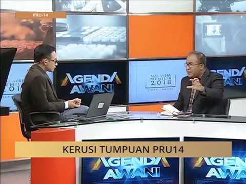 #MalaysiaMemilih Agenda AWANI: Kerusi tumpuan PRU14