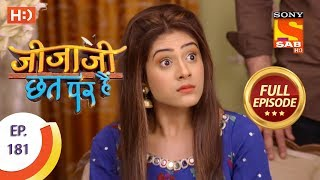 Jijaji Chhat Per Hai - Ep 181 - Full Episode - 18th September, 2018
