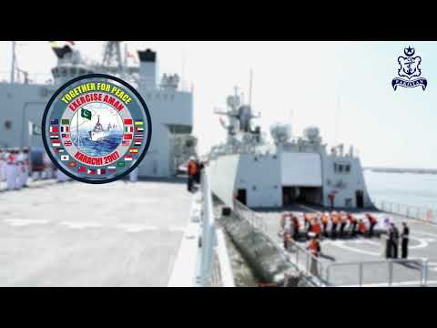 Pakistan Navy is hosting sixth Multinational Maritime Exercise AMAN 2019.