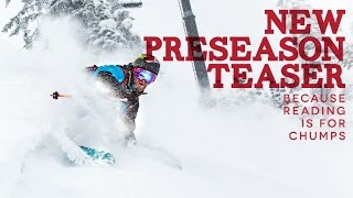 RED Mountain Resort Preason 2015/16 Teaser